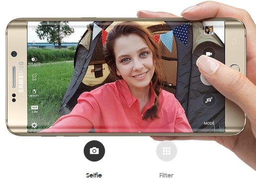kamera Dimensi Hape Samsung Galaxy S6 Edge+ (Plus)