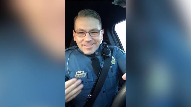 Kansas Highway Patrol Trooper Tells People To Drive Faster