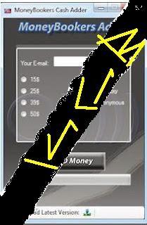 Moneybookers Money Adder