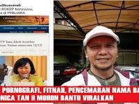 Ini Dia Identitas & No HP Penyebar Fitnah Dan Hoax Foto Veronica Tan. Viralkan !!