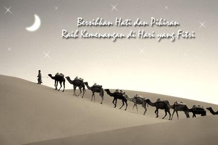 Selamat lebaran Idul Fitri
