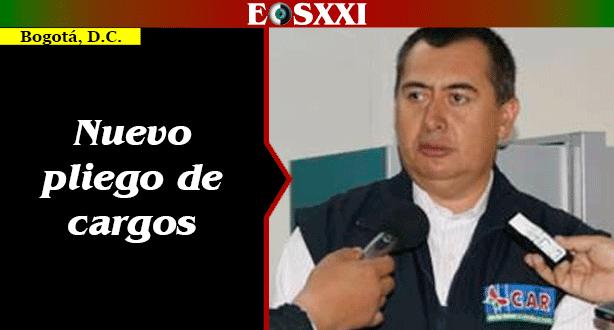 Procuraduría formuló pliego de cargos a exdirector de la CAR Cundinamarca