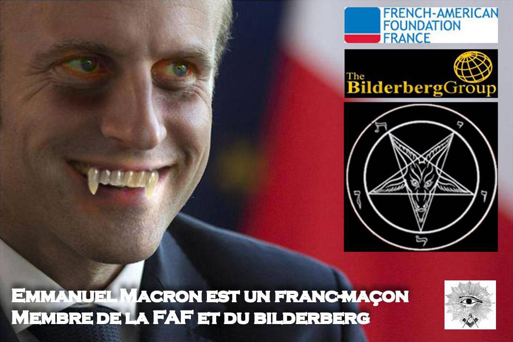 Ces Francs-Maçons qui nous gouvernent - illuminatis- luciférisme- sacrifices d'enfants   Emmnanuel-macron---french-american-foundation---bilderberg---franc-maconnerie