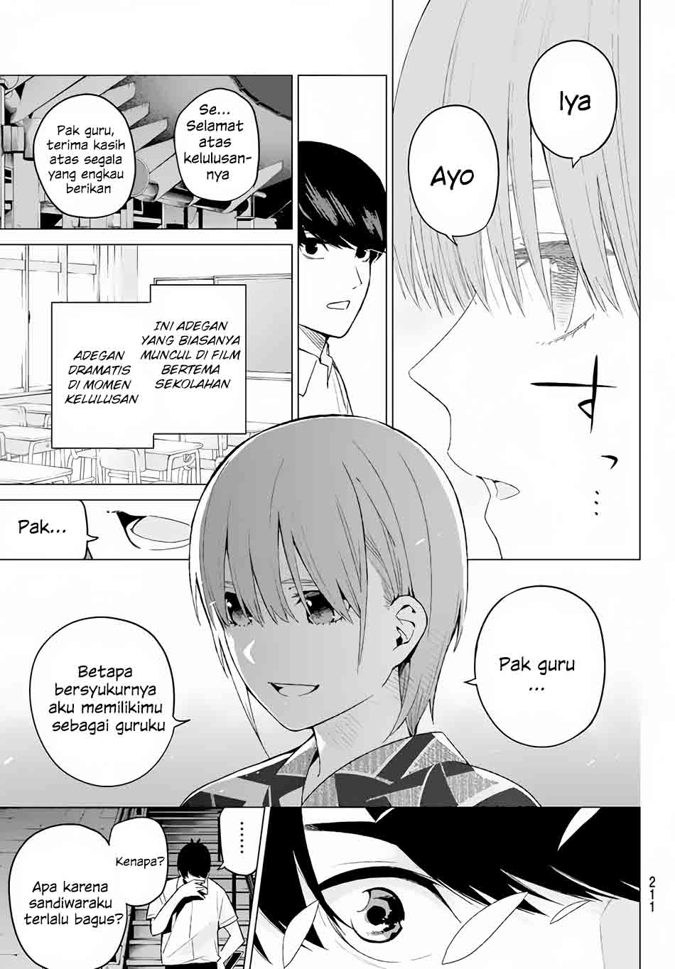 Komik Go-toubun No Hanayome Chapter 11 Bahasa Indonesia