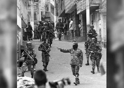 masacre medellin comuna 13 blog sobre bogota uribe paramilitar
