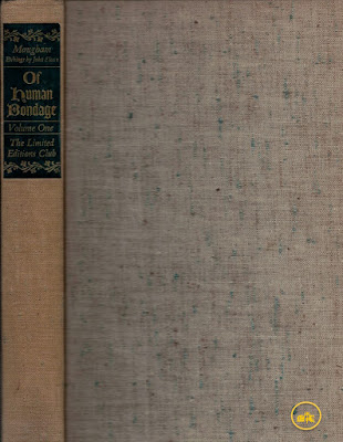 Of Human Bondage by W. Somerset Maugham & Sloan - Limited Editions Club