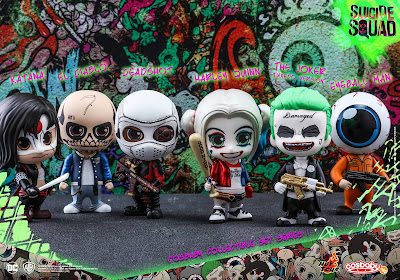 Suicide Squad Cosbaby Collectible Set 1 by Hot Toys