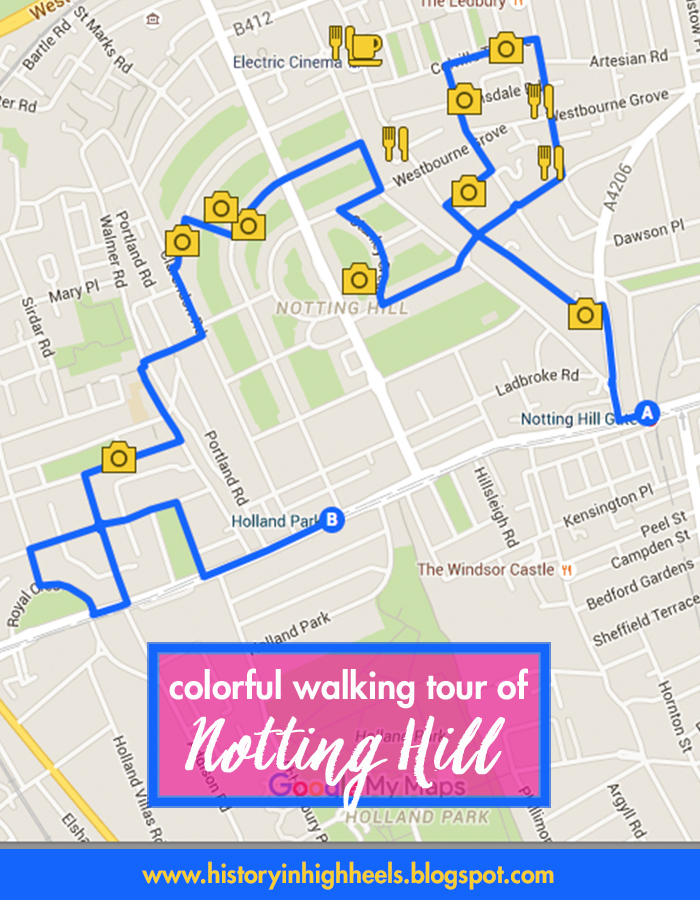 Notting Hill London: History In High Heels: A Colorful Tour Of Notting Hill