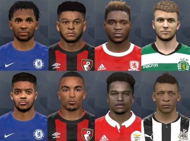 New Facepack 10 PES 2017