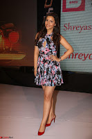 Kyra Dutta in a Deep neck Small Dress at Shamanthakamani pre release function ~  Exclusive 100.JPG