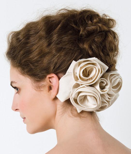 Wedding Dresses   Max Mara Bridal Hairstyle 2011