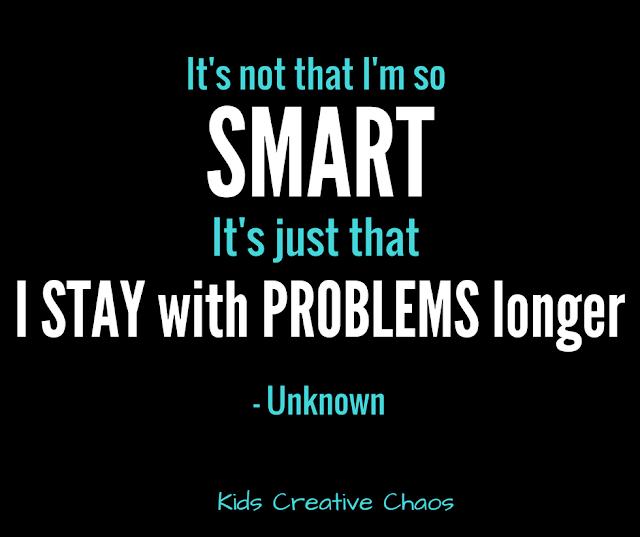 It's not that I am so smart quote. Albert Einstein. Facebook.