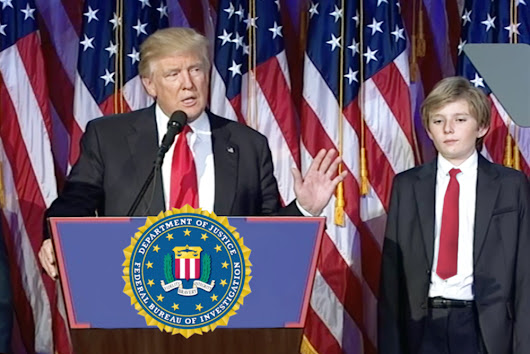 Donald Trump nominates son Barron (11) as new FBI director