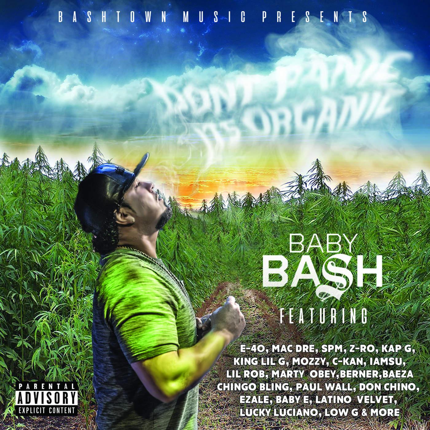 Baby Bash - Don't Panic It's Organic Cover