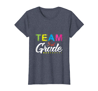 Team 3rd Grade Shirt Great back to school gift