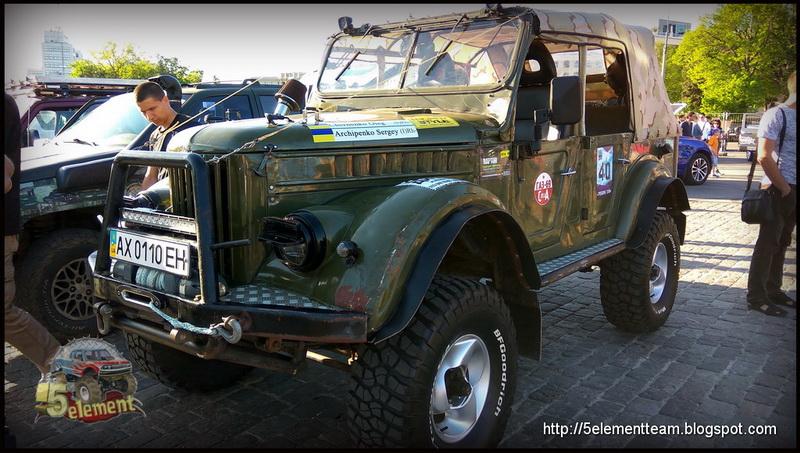 ГАЗ-69 на площади Свободы