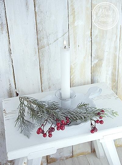 Weihnachtliche Dekoideen fuers Wohnzimmer.