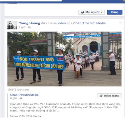 Lợi dụng trẻ em đi biểu tình – Những kẻ táng tận lương tâm