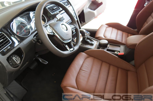 VW Golf TSI 2014 - Prata Tungstênio - interior