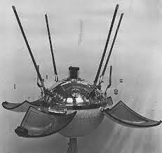 La capsula della sonda Luna 9.