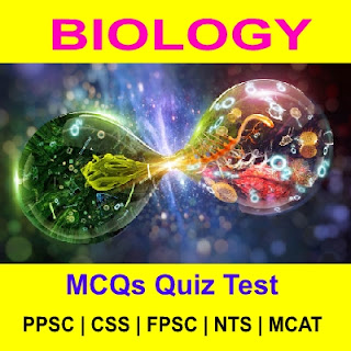 Biology MCQs PPSC Tests