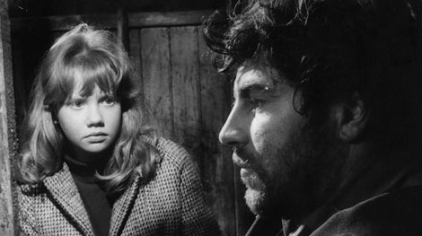 Movie Ramble  Tiger Bay  Hayley with fugitive Alan Bates