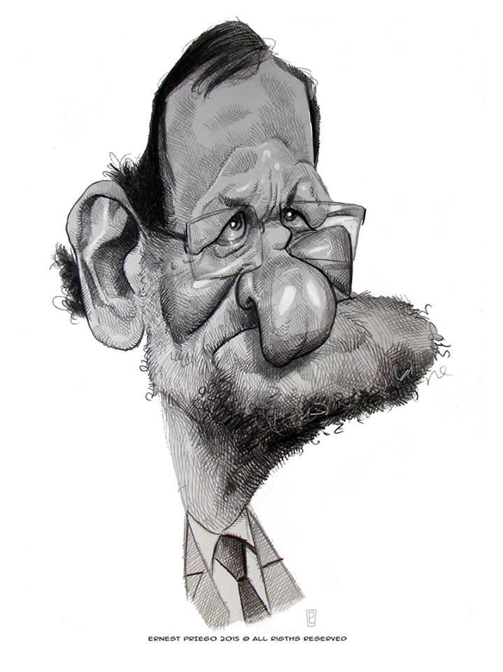 """""""Mariano Rajoy"""" por Ernesto Priego"""
