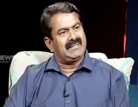 Interview with Seeman (Party leader of the Naam Tamilar Katchi) 24-06-2017