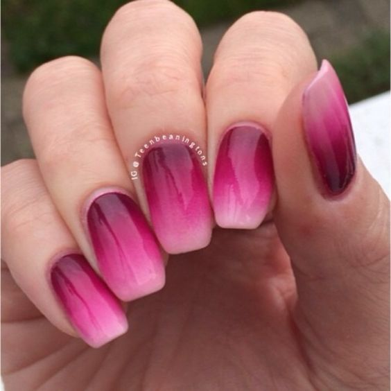 16 Super Cool Ombre Gradient Nail Art Tutorials: Awesome Ombre Nails