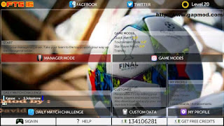 Download First Touch Soccer FTS16 Mod by David Apk + Data