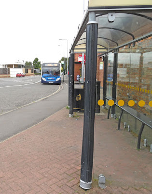 The Cary Lane bus station in Brigg, North Lincolnshire