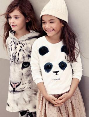 moda sostenible niñas H&M WWF