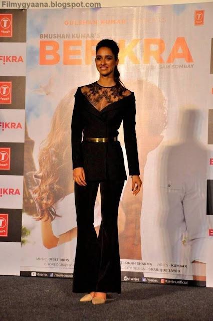 disha patani latest stills in black dress