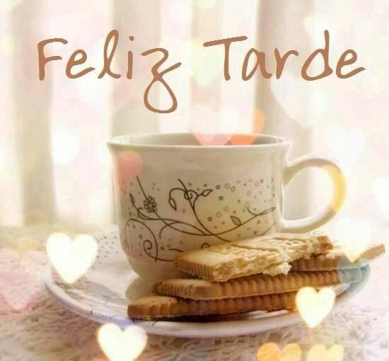 feliz tarde cafe