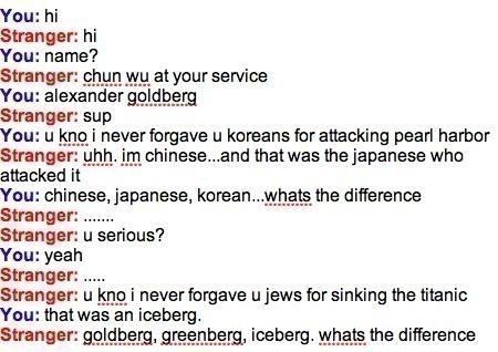 Funny Chinese Japanese Jewish Joke Image