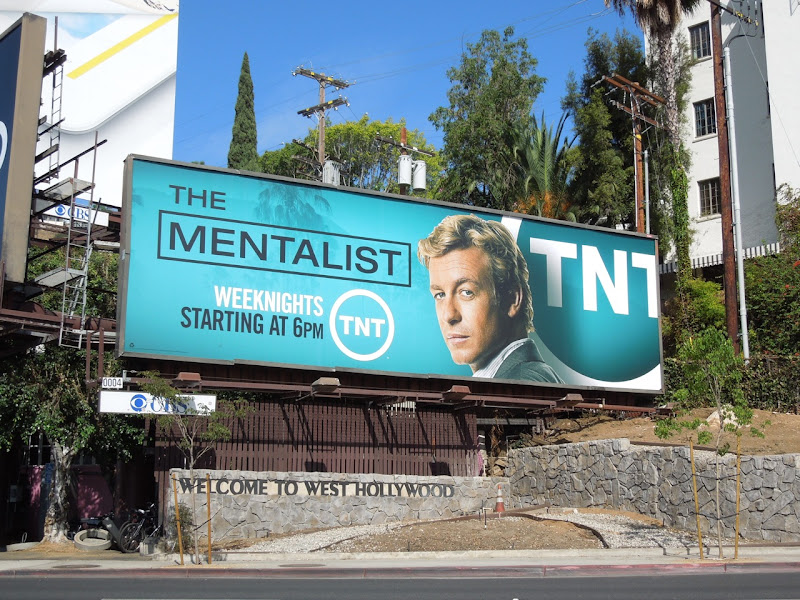Mentalist TNT Fall 2012 billboard