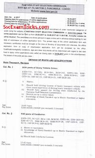 Haryana Roadways notification