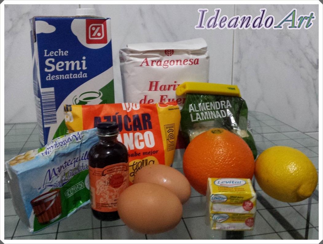 Ingredientes Roscón Reyes