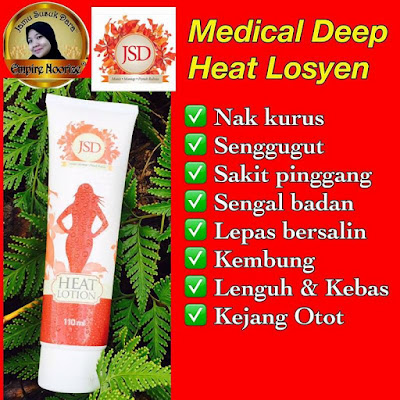Medicated Deep Heat Lotion JSD RM 48 110ml