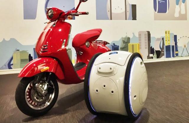 Motor Masa Depan Dilengkapi Robot Unik yang Pintar