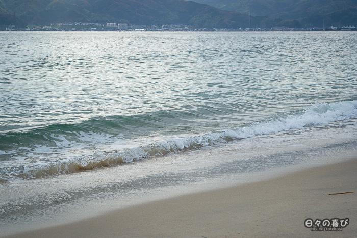 Plage sur la bande de sable, Amanohashidate, Kyoto