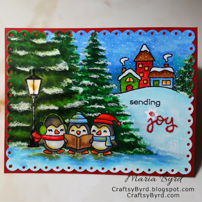 Handmade Card by Maria Byrd - CraftsyByrd.blogspot.com