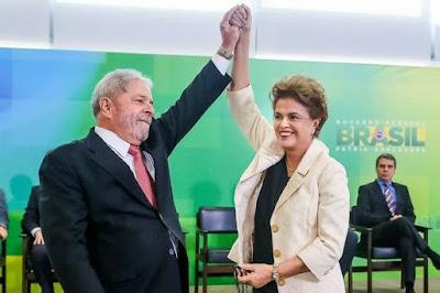 Lula toma posse como ministro - Blog do Asno