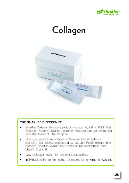Kulit flowless dengan collagen powder