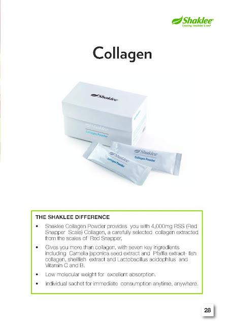 Kulit flowless dengan collagen powder
