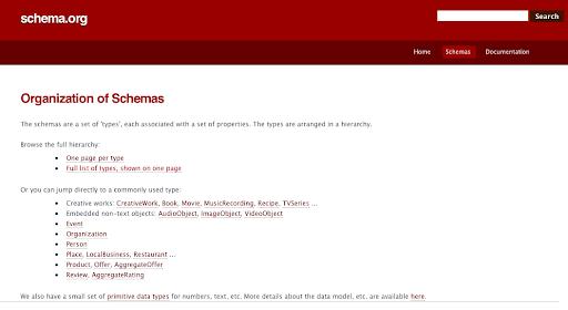 schema.org microformatos buscadores