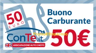 Logo Noi Siamo Con.Te : vinci gratis ogni giorno 200 euro in buoni carburante