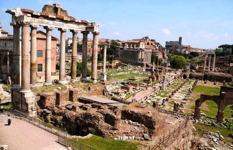 Resultado de imagem para Fórum de Roma