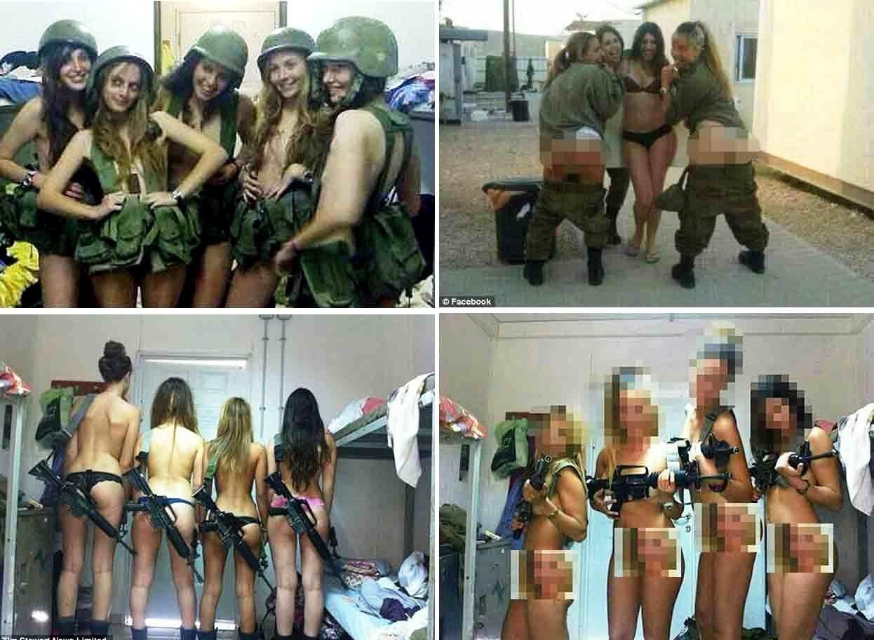 эротические женские фото израильской армии