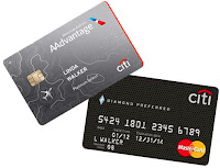 Citibank AAdvantage MasterCard and Diamond Preferred MasterCard